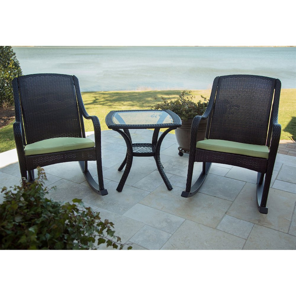Best ideas about Hanover Outdoor Furniture . Save or Pin Hanover Outdoor Furniture ORLEANS Orleans 3 Piece Rocking Now.
