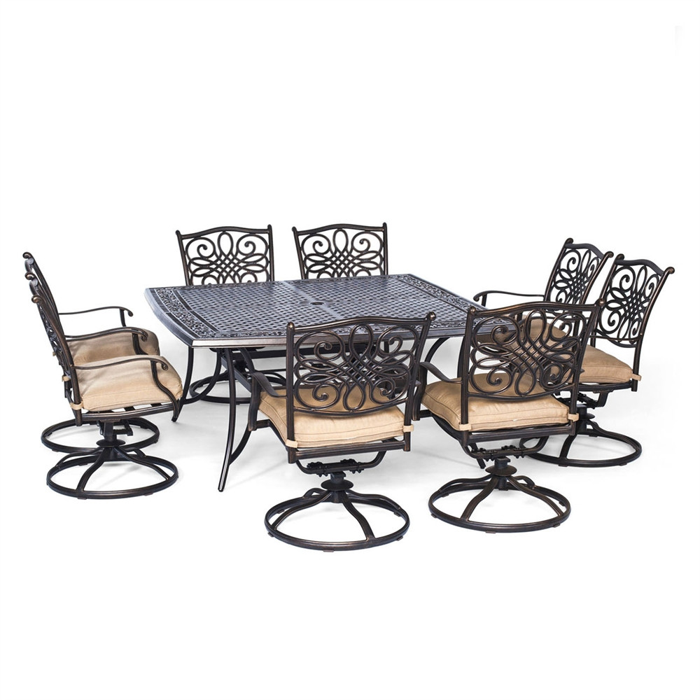 Best ideas about Hanover Outdoor Furniture . Save or Pin Hanover Outdoor Furniture TRADDN9PCSWSQ 8 Traditions 9 Now.