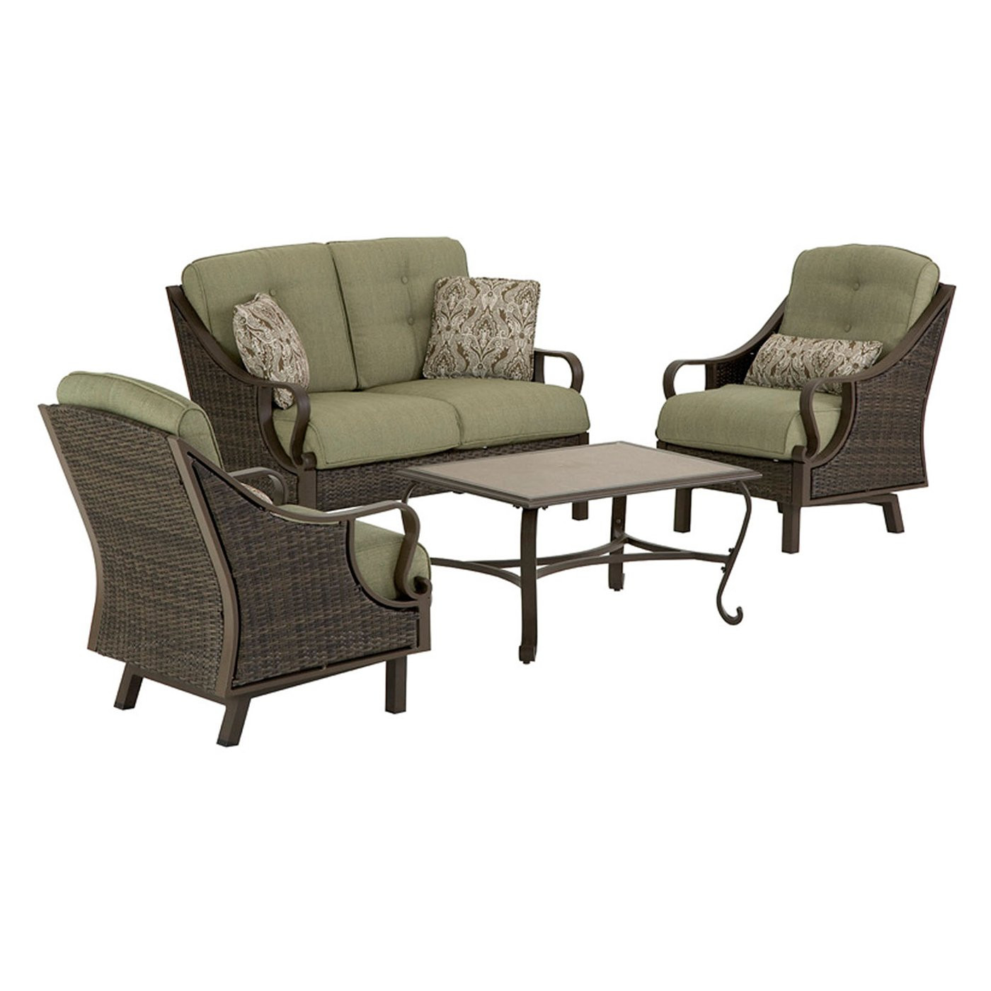 Best ideas about Hanover Outdoor Furniture . Save or Pin Hanover Outdoor Furniture VENTURA4PC Ventura 4 Piece Now.