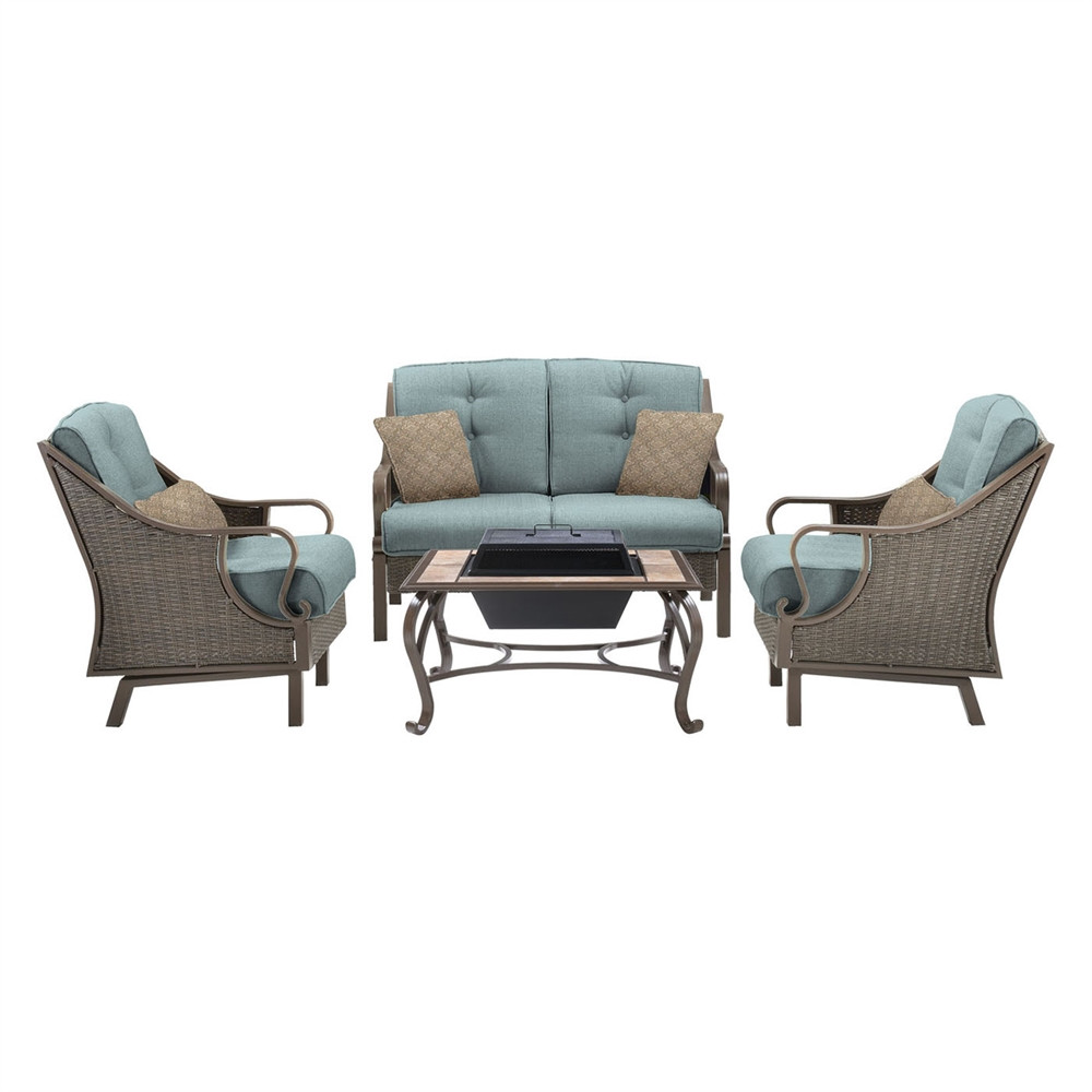 Best ideas about Hanover Outdoor Furniture . Save or Pin Hanover Outdoor Furniture VENTURA4PCFP Ventura 4 Piece Now.