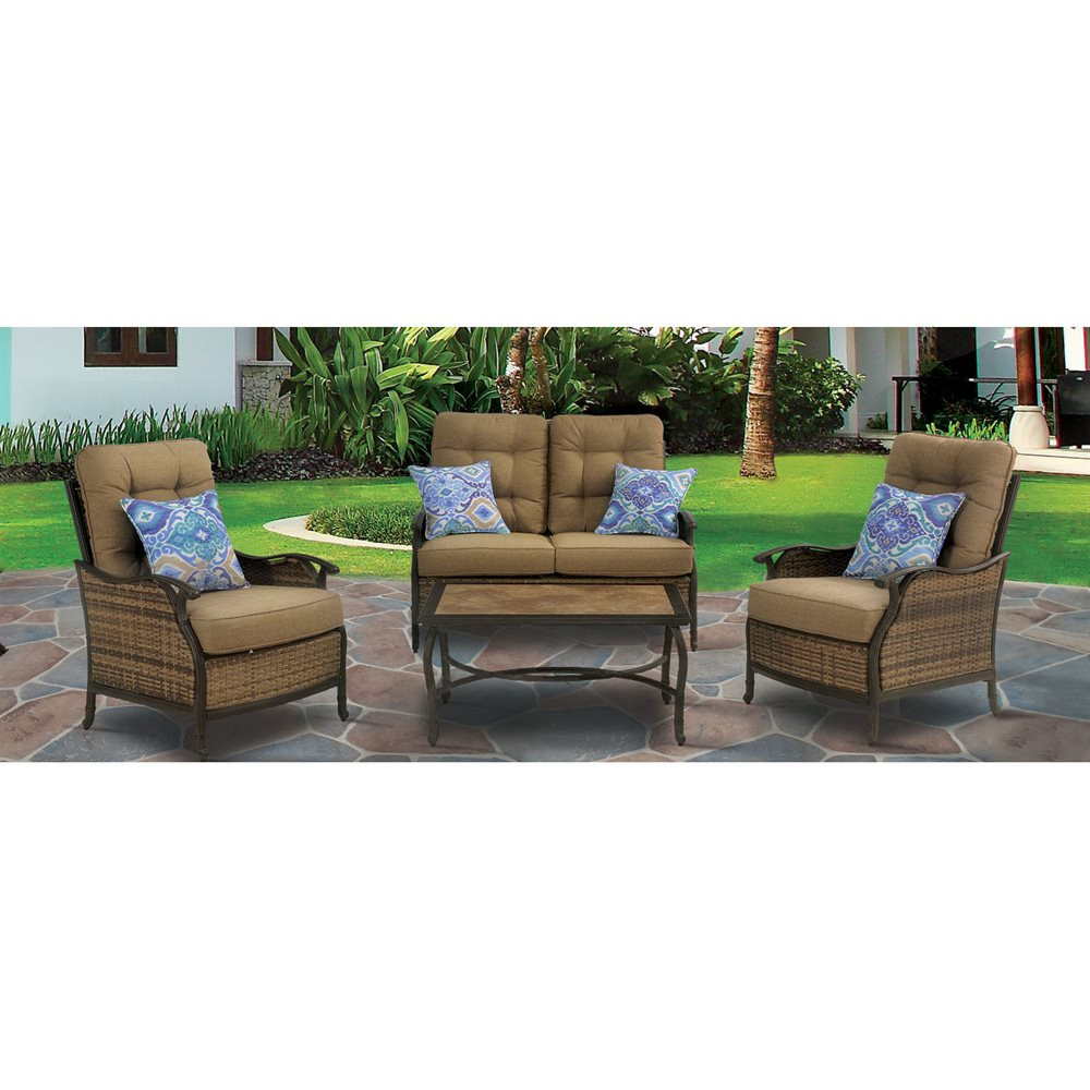 Best ideas about Hanover Outdoor Furniture . Save or Pin Hanover Outdoor Furniture HUDSONSQ4PC Hudson Square Now.