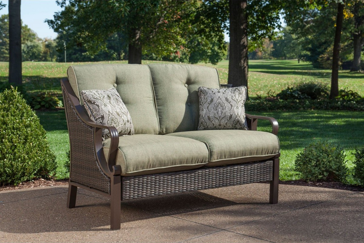 Best ideas about Hanover Outdoor Furniture . Save or Pin Hanover Ventura 4 Piece Wicker Outdoor Conversation Set Now.