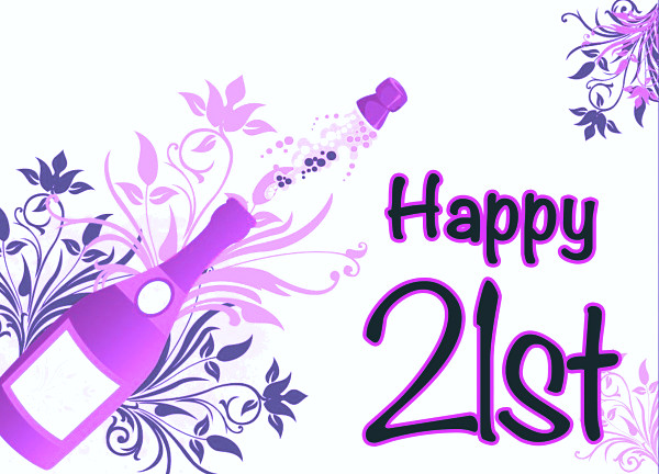 Best ideas about Happy 21st Birthday Wishes . Save or Pin Cute Happy 21st Birthday Wishes Now.
