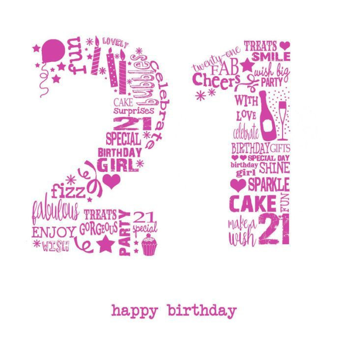 Best ideas about Happy 21st Birthday Wishes . Save or Pin Happy 21st Birthday Wishes Latest Collection of Now.