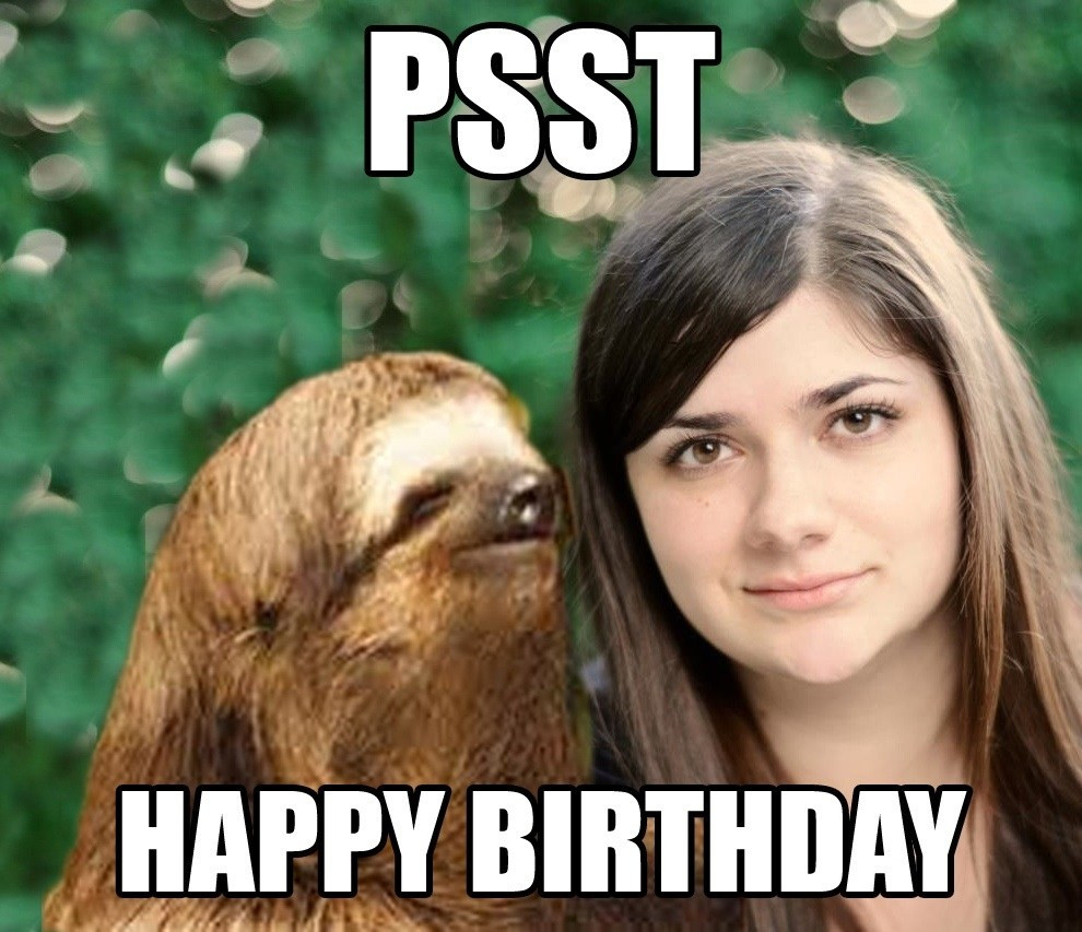 Best ideas about Happy Birthday Girl Funny . Save or Pin Happy Birthday Funny Meme Now.