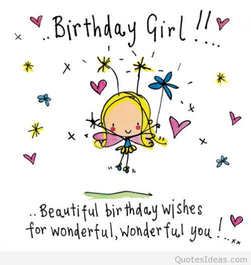 Best ideas about Happy Birthday Girl Funny . Save or Pin Happy Birthday Quotes To Girls QuotesGram Now.