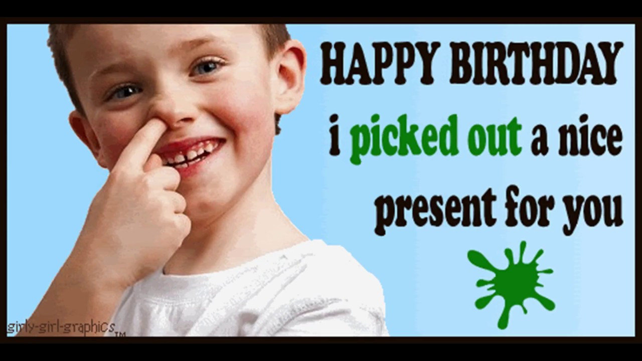 Best ideas about Happy Birthday Girl Funny . Save or Pin Funny Happy Birthday Video Now.