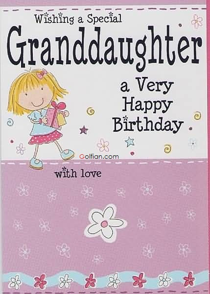 Best ideas about Happy Birthday Granddaughter Quotes . Save or Pin 65 Popular Birthday Wishes For Granddaughter – Beautiful Now.