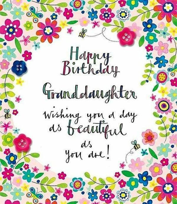 Best ideas about Happy Birthday Granddaughter Quotes . Save or Pin Happy Birthday Granddaughter Quotes and Wishes Now.