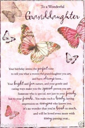 Best ideas about Happy Birthday Granddaughter Quotes . Save or Pin Happy Birthday to a wonderful Granddaughter Now.