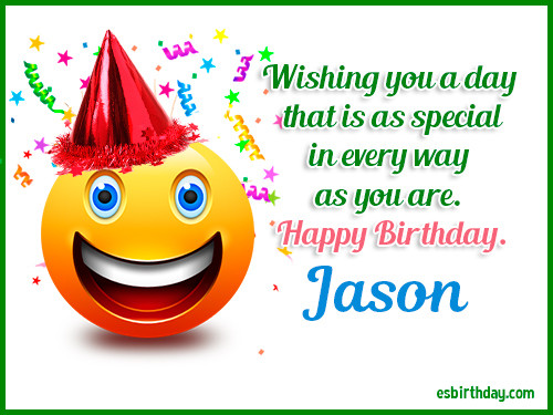 Best ideas about Happy Birthday Jason Funny . Save or Pin Happy Birthday Jason Happy Birthday images for Name Now.