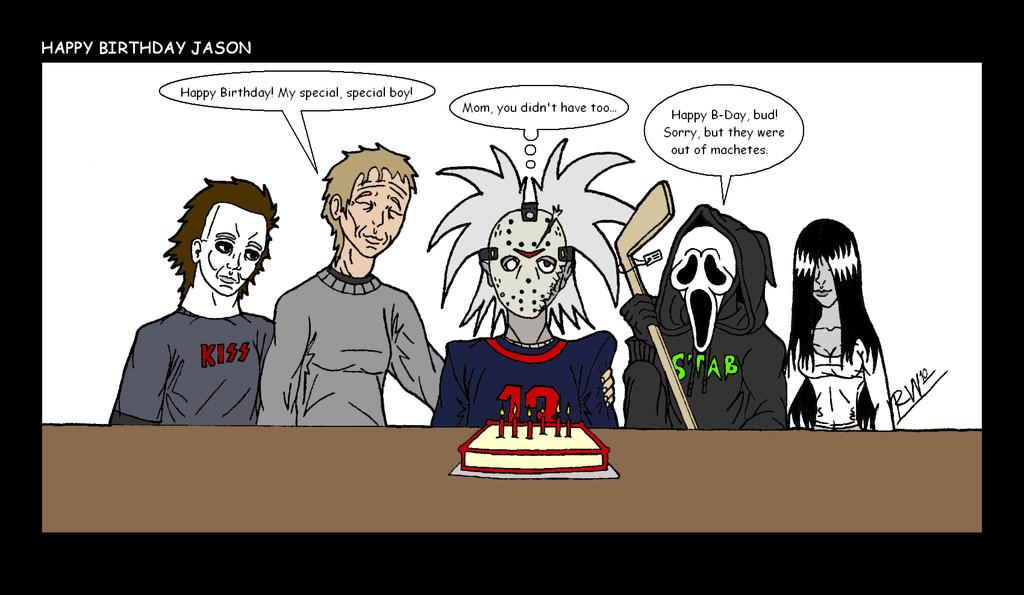 Best ideas about Happy Birthday Jason Funny . Save or Pin HH Happy Birthday Jason by HH HorrorHigh on DeviantArt Now.