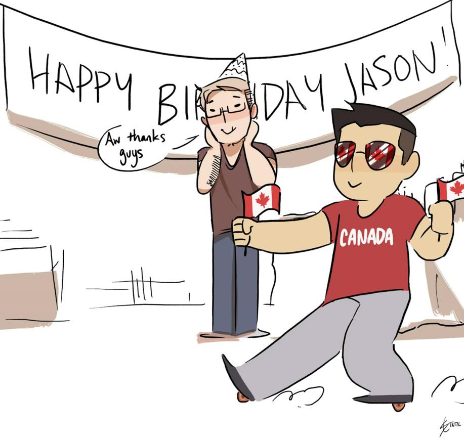 Best ideas about Happy Birthday Jason Funny . Save or Pin [Animation] Happy Birthday Jason by StaticColour on DeviantArt Now.