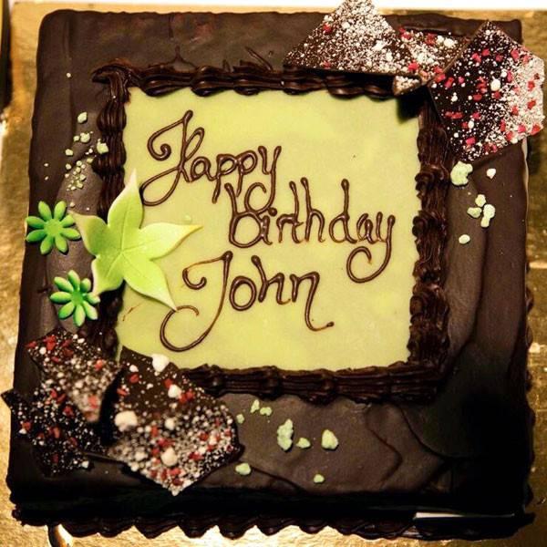 Best ideas about Happy Birthday John Cake . Save or Pin Katy Perry Tweets Happy Birthday Cutie to Boyfriend John Now.