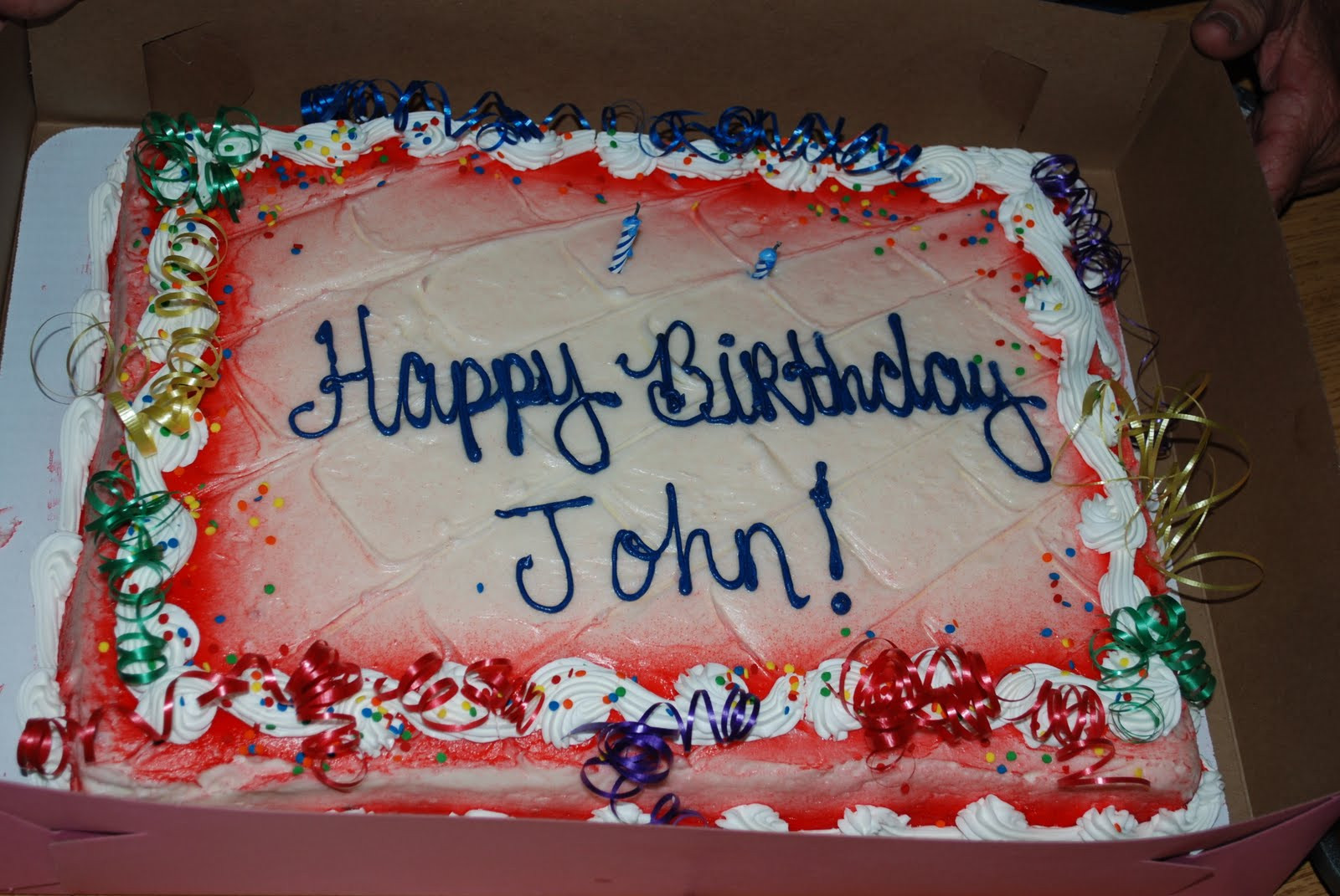 Best ideas about Happy Birthday John Cake . Save or Pin Stein Family Happy Birthday Grandpa John Now.