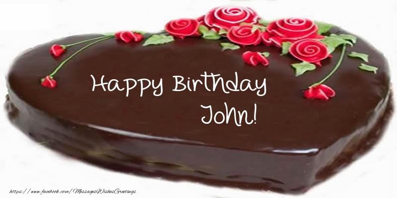 Best ideas about Happy Birthday John Cake . Save or Pin Happy Birthday John Cake Greetings Cards for Birthday Now.