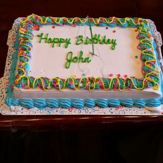 Best ideas about Happy Birthday John Cake . Save or Pin Happy birthday John Time for some ice cream cake Now.
