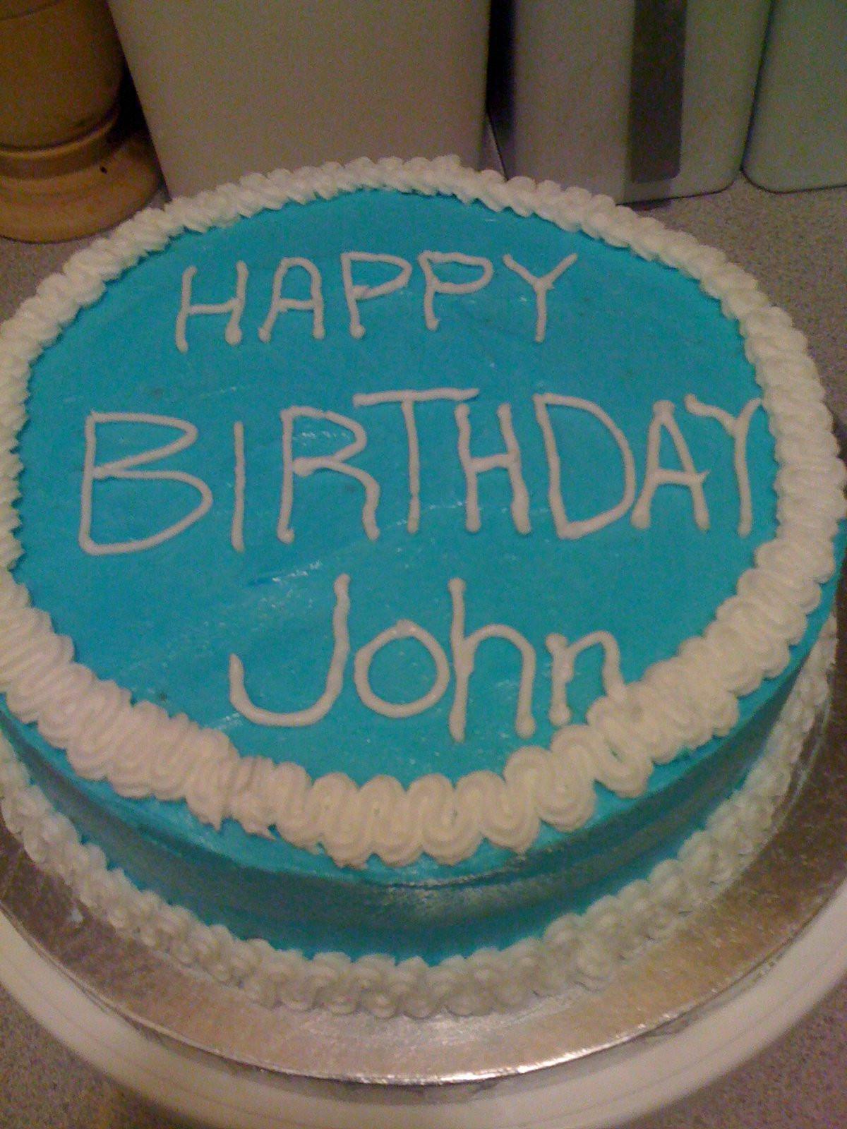 Best ideas about Happy Birthday John Cake . Save or Pin The Protean Libran Wilton Class 2 SpongeBob Birthday Now.