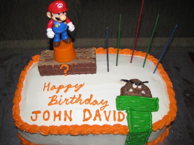 Best ideas about Happy Birthday John Cake . Save or Pin The Nutty Nichols Happy Birthday John David Now.