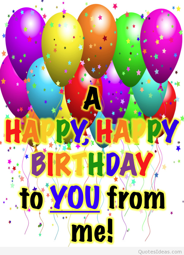 Best ideas about Happy Birthday Quotes Pic . Save or Pin Happy birthday pictures wishes quotes and sayings Now.