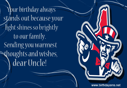 Best ideas about Happy Birthday Uncle Quotes . Save or Pin Happy Birthday Uncle Quotes QuotesGram Now.