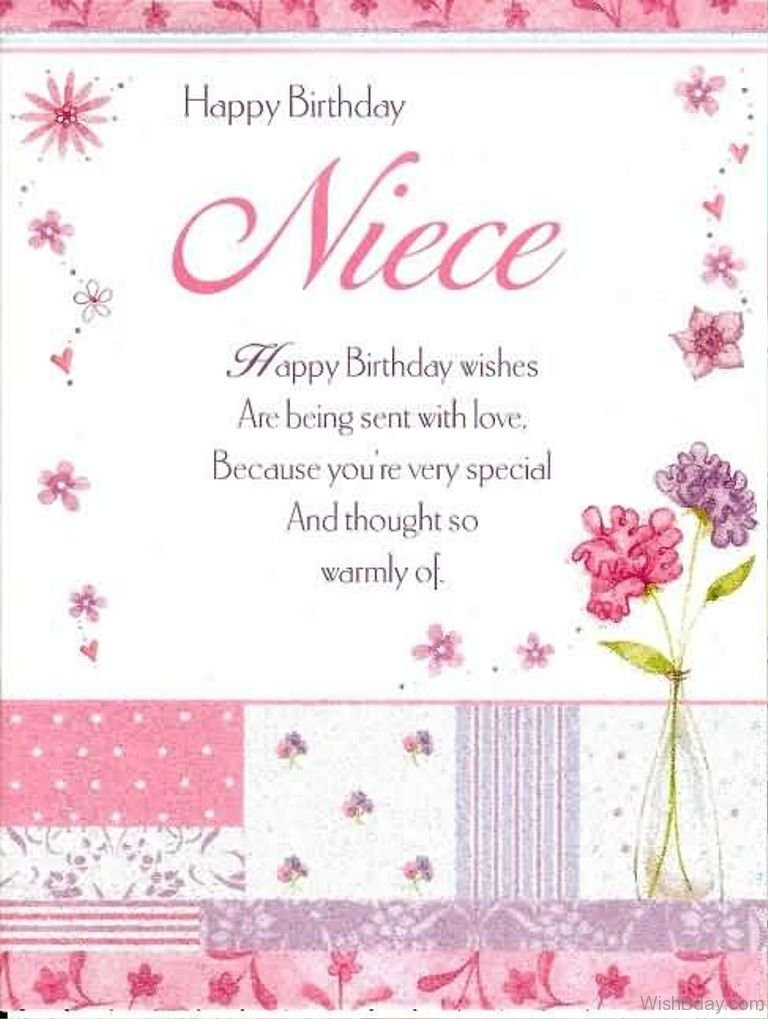 Best ideas about Happy Birthday Wishes For Niece . Save or Pin 46 Birthday Wishes For Niece Now.