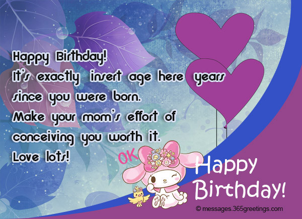 Best ideas about Happy Birthday Wishes Text . Save or Pin Happy Birthday SMS Birthday Wishes SMS 365greetings Now.