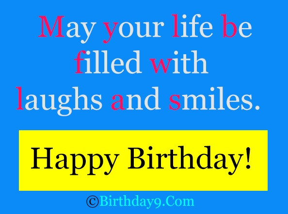 Best ideas about Happy Birthday Wishes Text . Save or Pin [ Free] Happy Birthday Wishes Quotes Text Messages Now.