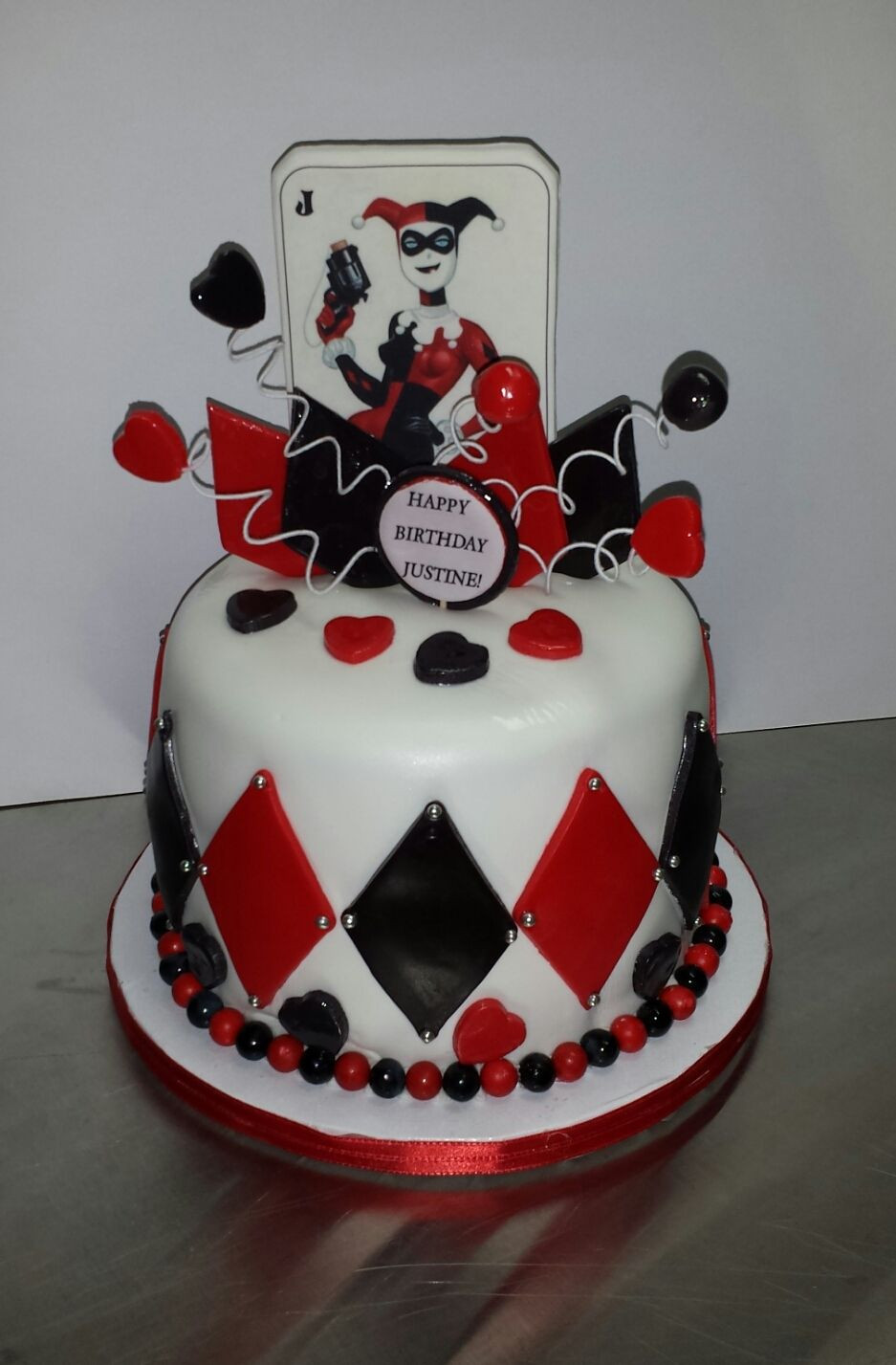 Best ideas about Harley Quinn Birthday Cake . Save or Pin Harley Quinn birthday cake haven t made a cake in a bit Now.