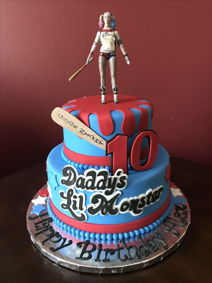 Best ideas about Harley Quinn Birthday Cake . Save or Pin 164 mejores imágenes de Cumpleaños Harley Quinn en Now.