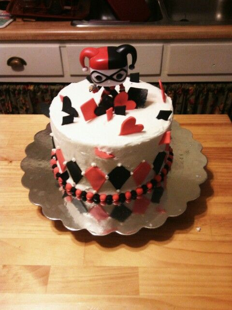 Best ideas about Harley Quinn Birthday Cake . Save or Pin Harley Quinn Hmm bday cake food Pinterest Now.