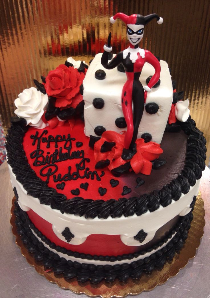Best ideas about Harley Quinn Birthday Cake . Save or Pin Harley Quinn Cake Cakes by Amanda Pinterest Now.