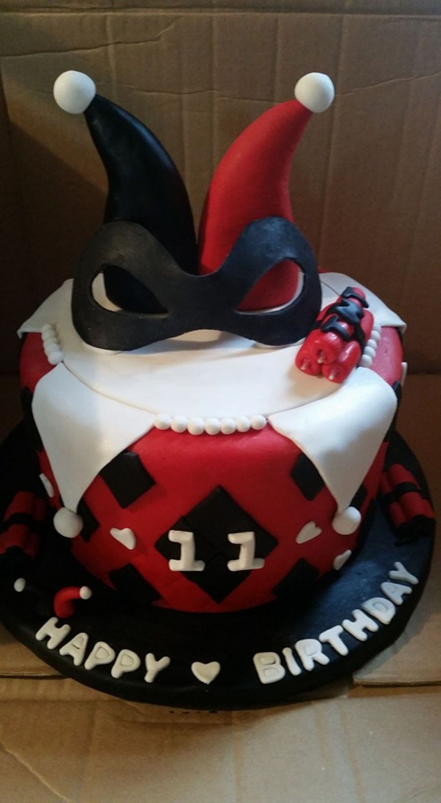 Best ideas about Harley Quinn Birthday Cake . Save or Pin Harley Quinn Theme CakeCentral Now.