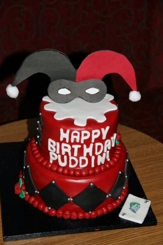 Best ideas about Harley Quinn Birthday Cake . Save or Pin Cookies and Cakes and all things baked Harley Quinn Cake Now.
