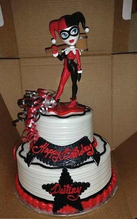 Best ideas about Harley Quinn Birthday Cake . Save or Pin Cake Wrecks Home Sunday Sweets For Harley Quinn Now.