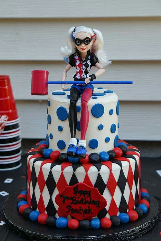 Best ideas about Harley Quinn Birthday Cake . Save or Pin Harley Quinn Birthday Cake by Providence Divine Cakes Now.