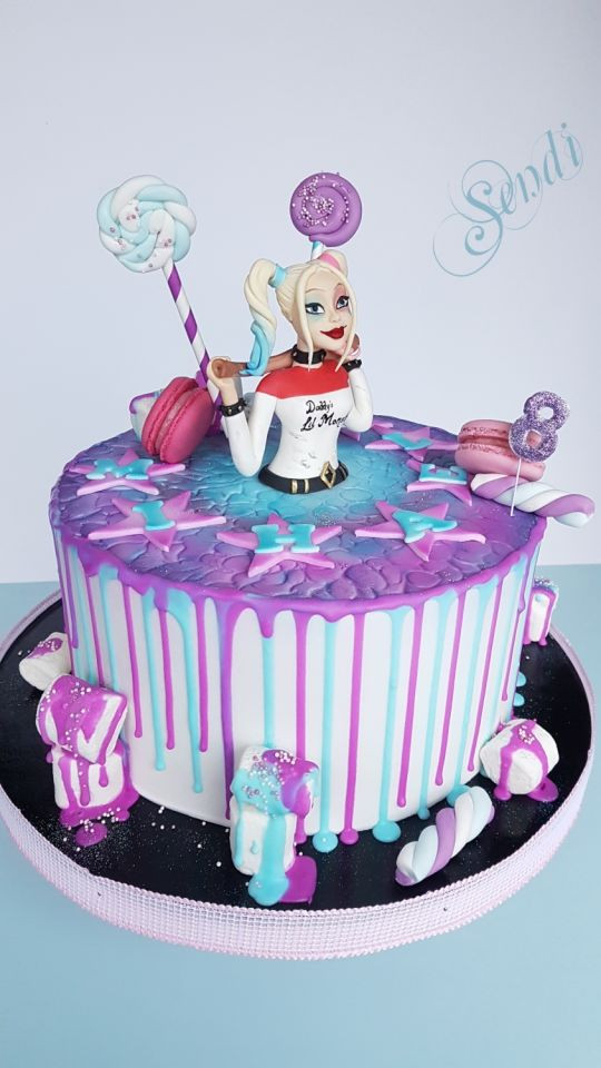 Best ideas about Harley Quinn Birthday Cake . Save or Pin Harley Quinn cake by Sendi CakesDecor Now.