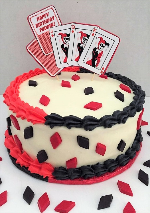 Best ideas about Harley Quinn Birthday Cake . Save or Pin Harley Quinn DIY Cake Topper DIY Inspired Now.