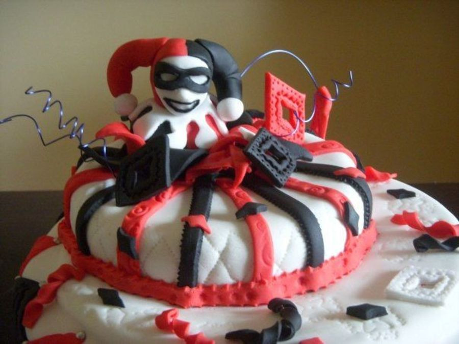Best ideas about Harley Quinn Birthday Cake . Save or Pin Harley Quinn Cake CakeCentral Now.