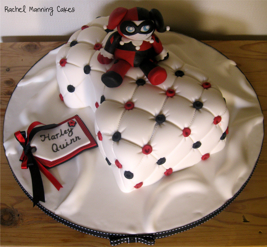 Best ideas about Harley Quinn Birthday Cake . Save or Pin Harley Quinn Cake Harlequin Cake Batman CakeCentral Now.