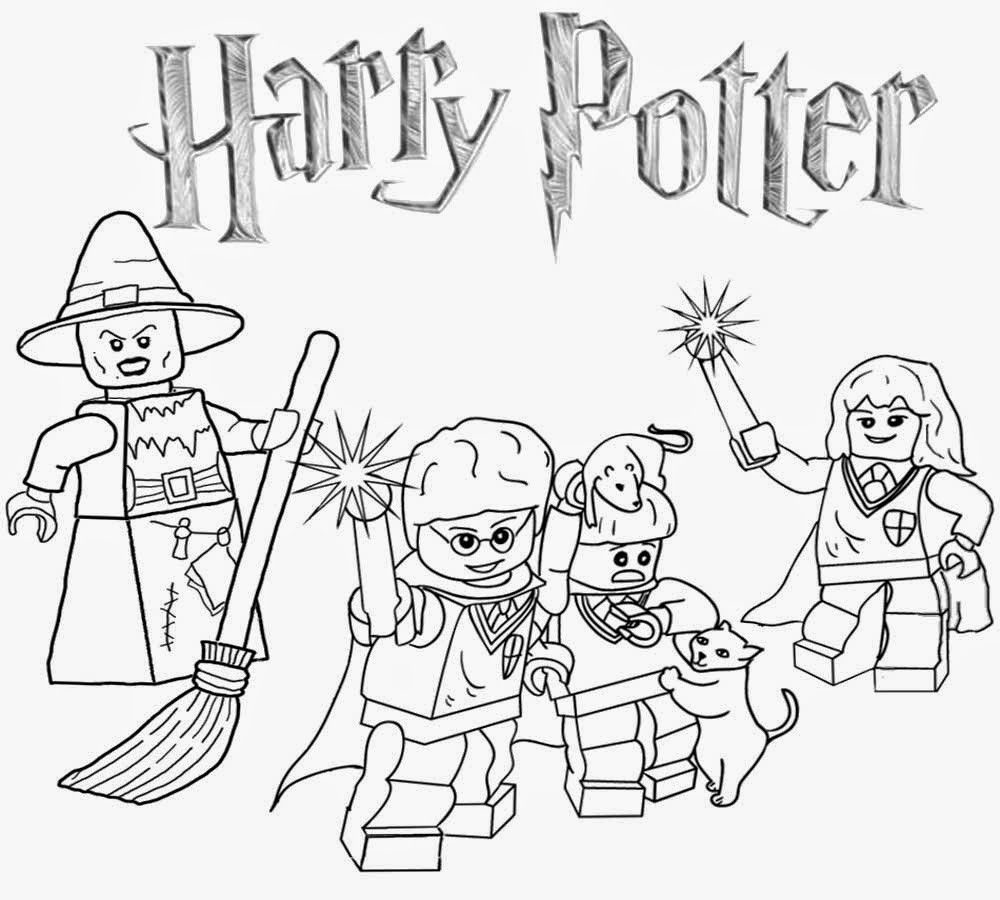 Best ideas about Harry Potter Coloring Pages For Kids . Save or Pin Lego Coloring Pages Best Coloring Pages For Kids Now.