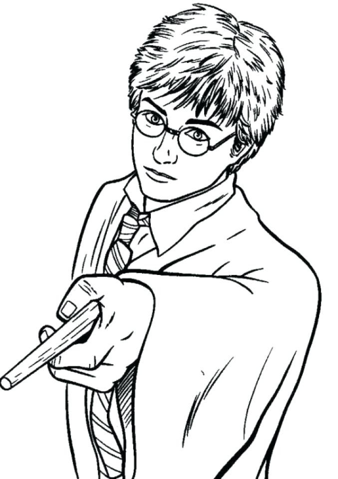 Best ideas about Harry Potter Coloring Pages For Kids . Save or Pin Free Harry Potter Coloring Pages Now.