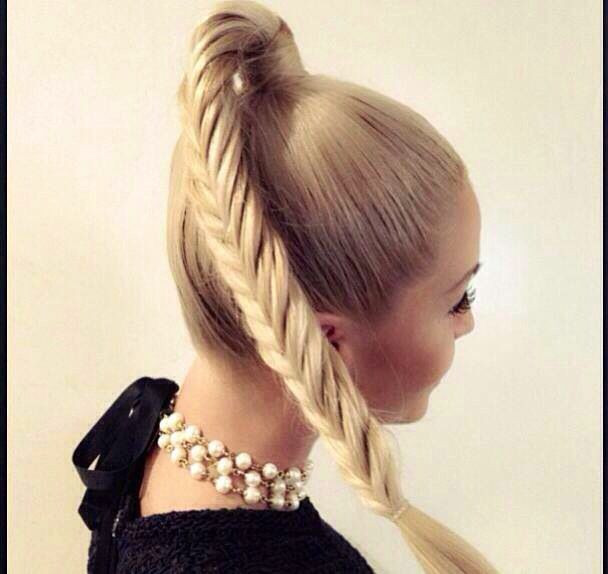 Best ideas about High Ponytail Braid Hairstyles . Save or Pin French Braid High Ponytail for Long Hair fmag Now.