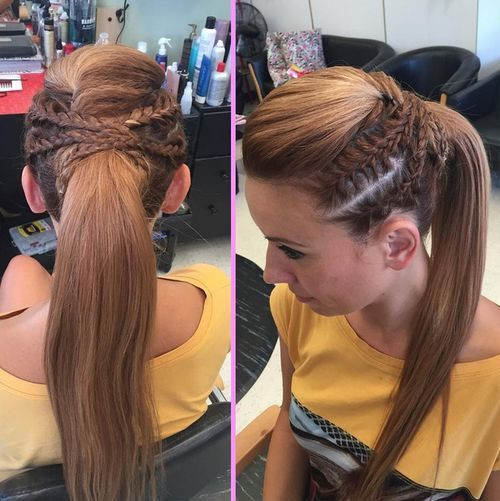 Best ideas about High Ponytail Braid Hairstyles . Save or Pin 19 Pretty Ways to Try French Braid Ponytails Pretty Designs Now.