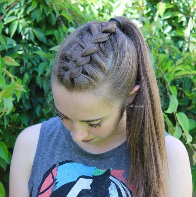 Best ideas about High Ponytail Braid Hairstyles . Save or Pin 5 RELAXED BRAIDED HAIRSTYLES Jewe Blog Now.