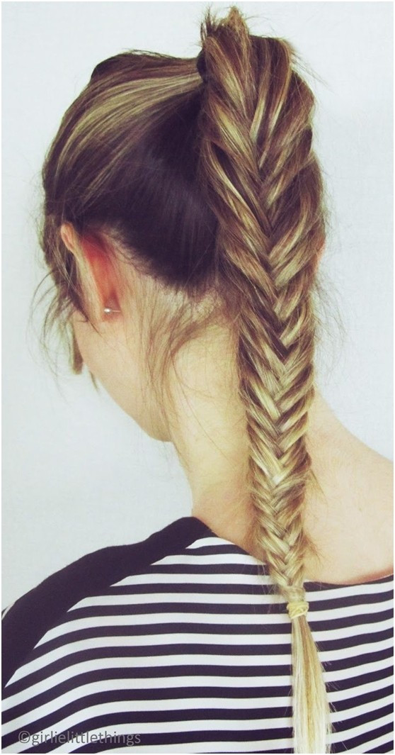 Best ideas about High Ponytail Braid Hairstyles . Save or Pin 10 Fishtail Braid Ideas for Long Hair PoPular Haircuts Now.