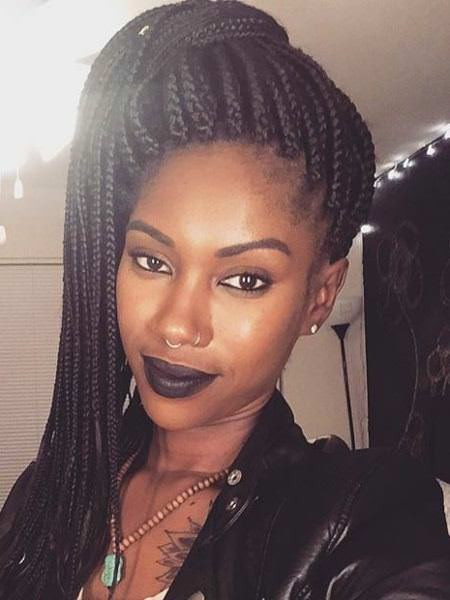 Best ideas about High Ponytail Braid Hairstyles . Save or Pin 20 Iconic Box Braids Hairstyles Now.