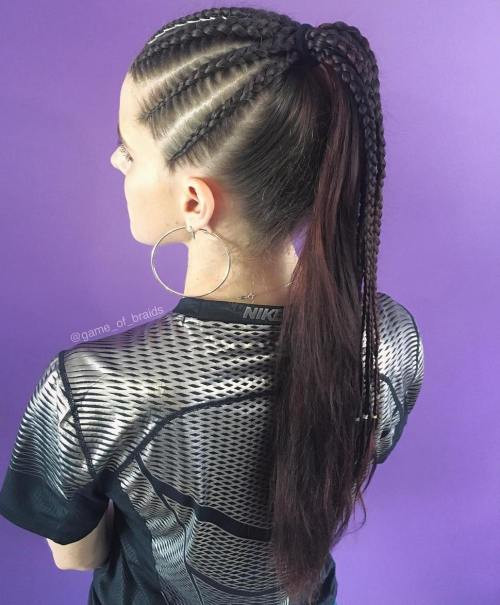 Best ideas about High Ponytail Braid Hairstyles . Save or Pin Braided Ponytail Hairstyles Now.