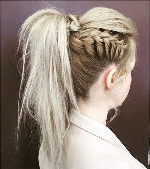 Best ideas about High Ponytail Braid Hairstyles . Save or Pin 18 Cute Braided Ponytail Styles PoPular Haircuts Now.