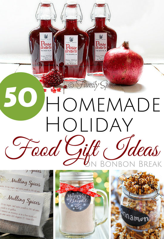 Best ideas about Holiday Food Gift Ideas . Save or Pin Homemade Food Gift Ideas Pinterest 1000 ideas about diy Now.